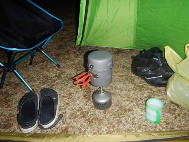 キャンプ飯