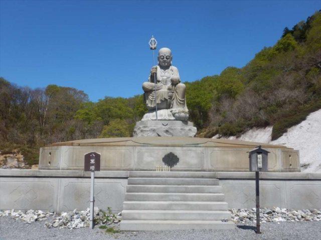 恐山菩薩寺 参拝道