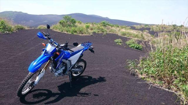 裏砂漠とWR250R