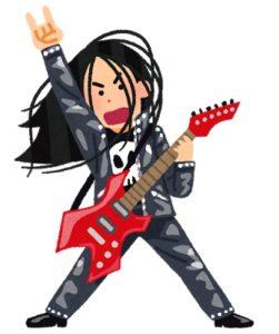 ギターで盛り上がる人